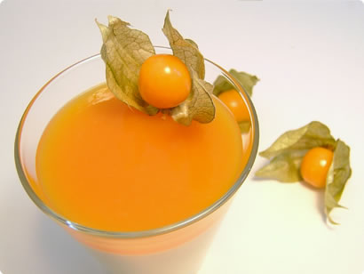 Panna Cotta with Orange Jelly