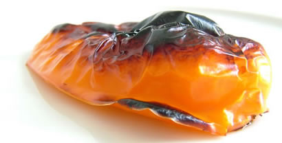 Roasted Orange Pepper