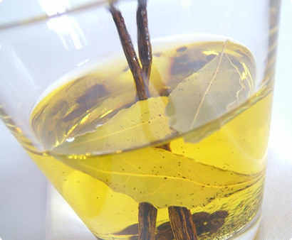 Infused cooking oil