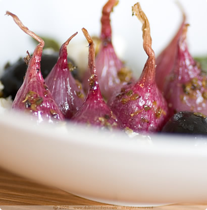 Braised Red Onions