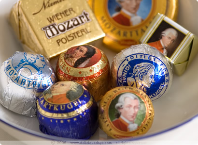 Mozartkugeln and more...