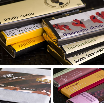 The final chocolate selection...