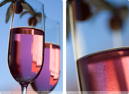 Pink and bubbly