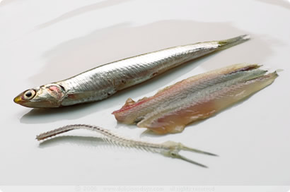Boquerones: before and after