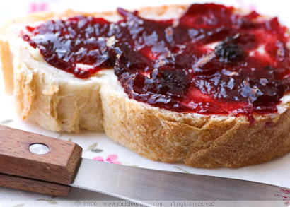 Blueberry-Nectarine Jam