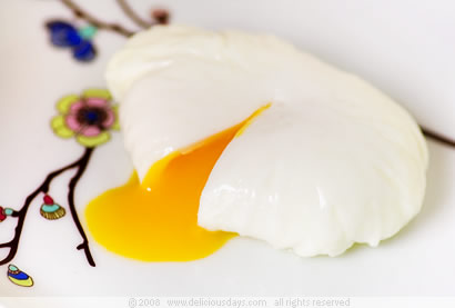 How to poach an egg...