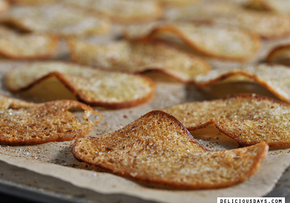 spicy bread chips